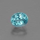 thumb image of 1.1ct Oval Facet Blue Apatite (ID: 429694)
