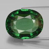 thumb image of 19.7ct Oval Facet Green Apatite (ID: 429702)