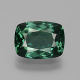 thumb image of 2.5ct Cushion-Cut Green Apatite (ID: 432271)