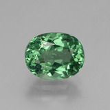 thumb image of 1.7ct Oval Facet Green Apatite (ID: 432272)