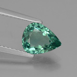 thumb image of 1.2ct Pear Facet Green Apatite (ID: 432418)