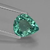 thumb image of 1.6ct Pear Facet Green Apatite (ID: 432420)