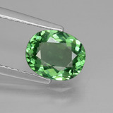thumb image of 1.5ct Oval Facet Green Apatite (ID: 432484)