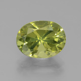 thumb image of 3.5ct Oval Facet Golden Green Apatite (ID: 438939)