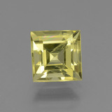thumb image of 3ct Square Facet Golden Green Apatite (ID: 439009)