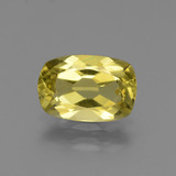 thumb image of 2ct Cushion-Cut Golden Yellow Apatite (ID: 439011)