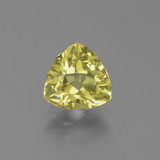 thumb image of 1.2ct Trillion Facet Golden Green Apatite (ID: 439270)