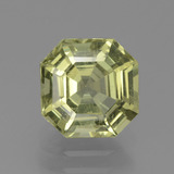 thumb image of 2.2ct Asscher Cut Golden Green Apatite (ID: 439382)