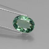 thumb image of 0.9ct Oval Facet Blue Green Apatite (ID: 440252)