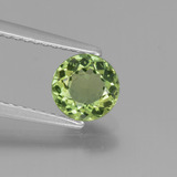 thumb image of 0.9ct Round Facet Green Apatite (ID: 440260)
