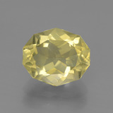 thumb image of 4.3ct Oval Fancy Facet Golden Green Apatite (ID: 447315)