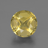 thumb image of 4.9ct Round Facet Greenish Golden Apatite (ID: 447316)