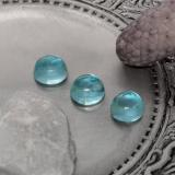thumb image of 1.3ct Round Cabochon Green Blue Apatite (ID: 468184)