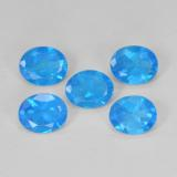 thumb image of 1.8ct Oval Facet Blue Apatite (ID: 470986)