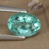 thumb image of 0.8ct Oval Facet Green Blue Apatite (ID: 475894)