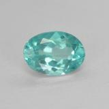 thumb image of 1ct Oval Facet Green Blue Apatite (ID: 476003)