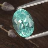 thumb image of 1ct Oval Facet Green Blue Apatite (ID: 476245)