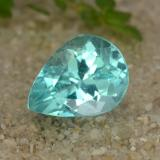 thumb image of 1.2ct Pear Facet Bluish Green Apatite (ID: 476556)