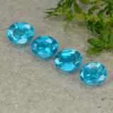 thumb image of 1.5ct Oval Facet Blue Apatite (ID: 488773)