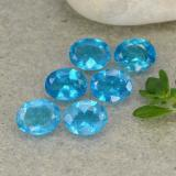 thumb image of 1.9ct Oval Facet Blue Apatite (ID: 488782)