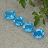 thumb image of 1.2ct Oval Facet Blue Apatite (ID: 488847)
