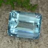 thumb image of 40.6ct Octagon Facet Light Blue Aquamarine (ID: 264265)