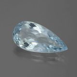 thumb image of 5.6ct Pear Facet Light Blue Aquamarine (ID: 388626)