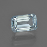 thumb image of 2.6ct Octagon Facet Light Blue Aquamarine (ID: 408552)