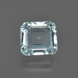 thumb image of 2.4ct Octagon Facet Light Blue Aquamarine (ID: 408826)