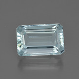 thumb image of 2ct Octagon Facet Light Blue Aquamarine (ID: 408840)