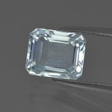 thumb image of 2.3ct Octagon Facet Light Blue Aquamarine (ID: 408868)