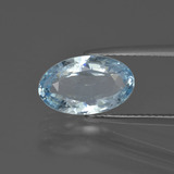 thumb image of 2.5ct Oval Facet Light Blue Aquamarine (ID: 408871)