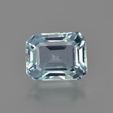thumb image of 2.6ct Octagon Facet Light Blue Aquamarine (ID: 408911)