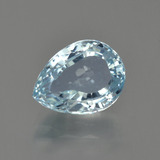 thumb image of 3ct Pear Facet Light Blue Aquamarine (ID: 408917)