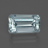 thumb image of 3.6ct Octagon Facet Light Blue Aquamarine (ID: 409138)