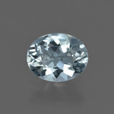 thumb image of 1.1ct Oval Facet Light Blue Aquamarine (ID: 409167)