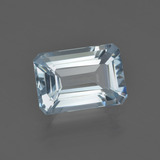 thumb image of 2.4ct Octagon Facet Light Blue Aquamarine (ID: 409234)