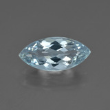 thumb image of 2.6ct Marquise Facet Light Blue Aquamarine (ID: 409880)