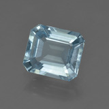thumb image of 2.3ct Octagon Facet Light Blue Aquamarine (ID: 410050)