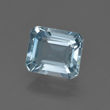 thumb image of 2.1ct Octagon Facet Light Blue Aquamarine (ID: 410057)