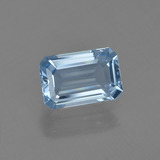 thumb image of 1.5ct Octagon Facet Light Blue Aquamarine (ID: 410210)