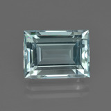 thumb image of 5.1ct Baguette Facet Light Blue Aquamarine (ID: 412438)