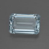 thumb image of 5.3ct Octagon Facet Light Blue Aquamarine (ID: 412443)