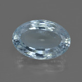 thumb image of 6.2ct Oval Facet Light Blue Aquamarine (ID: 412448)