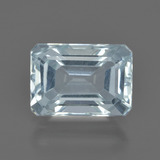 thumb image of 3.4ct Octagon Facet Light Blue Aquamarine (ID: 412505)