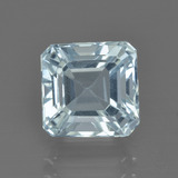 thumb image of 2.8ct Octagon Facet Light Blue Aquamarine (ID: 412534)