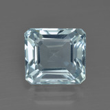thumb image of 2.9ct Octagon Facet Light Blue Aquamarine (ID: 412536)