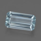 thumb image of 3.3ct Octagon Facet Light Blue Aquamarine (ID: 412559)