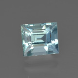 thumb image of 1.6ct Baguette Facet Light Blue Aquamarine (ID: 412564)