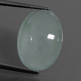 thumb image of 7.9ct Oval Cabochon Light Blue Aquamarine (ID: 414306)